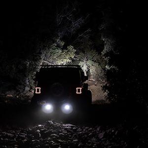 Iluminacion off road